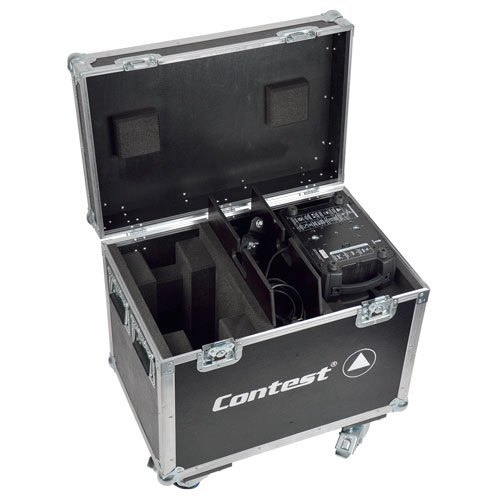 Flight case pour 2 lyres Evora-SP180