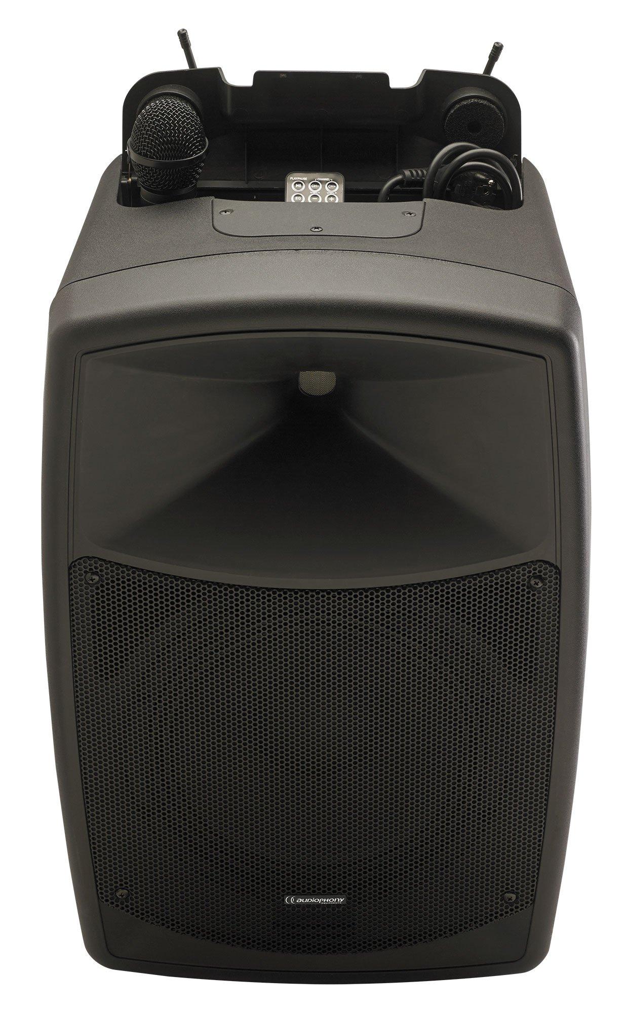 sono portable sur batterie Audiophony CR12A-COMBO