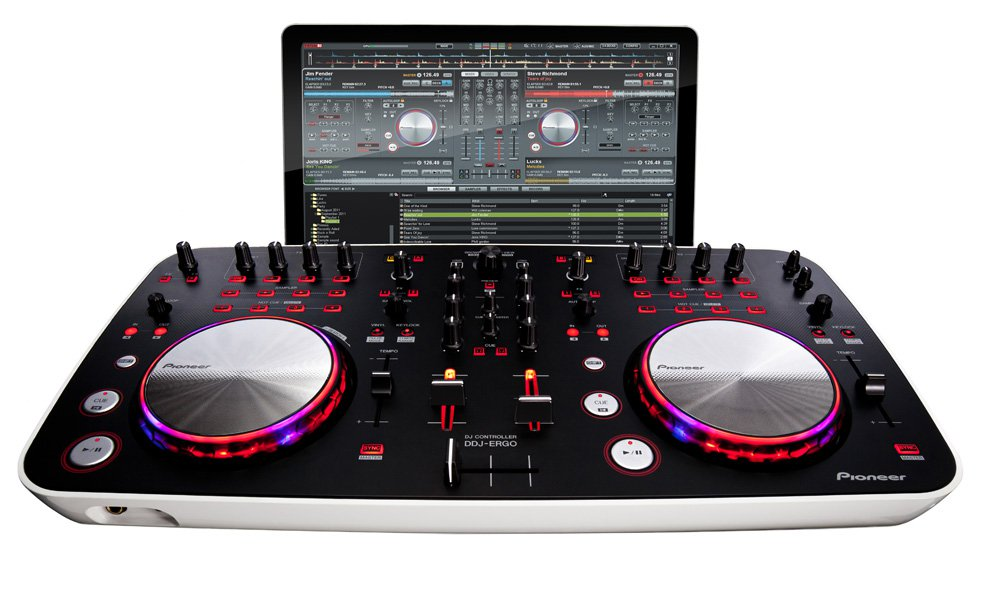 pioneer ddj ergo controleur dj usb mp3 pioneer. Black Bedroom Furniture Sets. Home Design Ideas